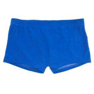 Blue Boyshort Panty NWOT Sleep Shorts Cosplay Hero
